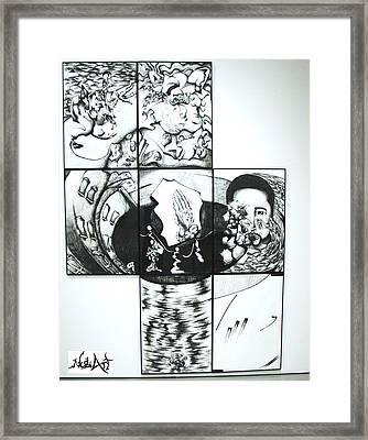 Me Framed Print by Ruben Rosado