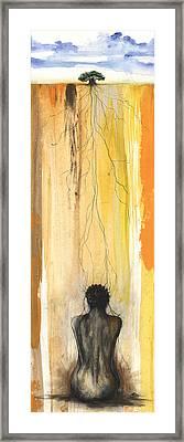 Me Time Framed Print by Anthony Burks Sr