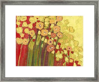 Meadow In Bloom Framed Print by Jennifer Lommers