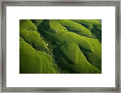 Meandering Valleys Of Texaco Hill Framed Print by Jim Richardson