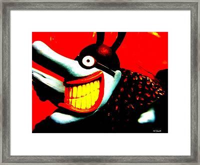 Meanie Framed Print by Ed Smith