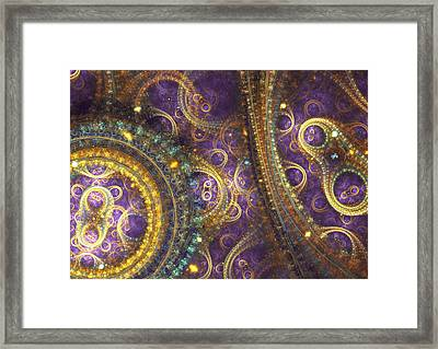 Mechanical Insight  Framed Print by Martin Capek