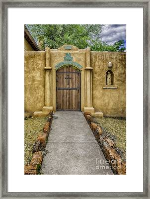Mediatrix Of All Graces Framed Print by Bitter Buffalo Photography