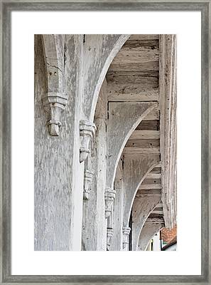 Medieval Architecture Framed Print by Tom Gowanlock