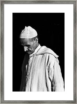 Medina Man 2 Framed Print by Marion Galt