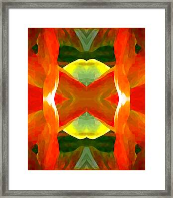 Meditation Framed Print by Amy Vangsgard