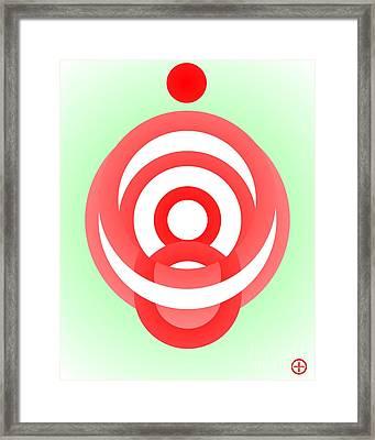 Meditation Framed Print by Hype