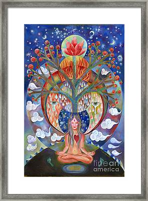 Meditation Framed Print by Manami Lingerfelt