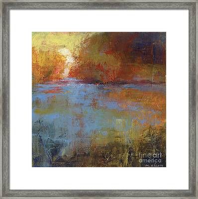 Meditation Place 2 Framed Print by Melody Cleary