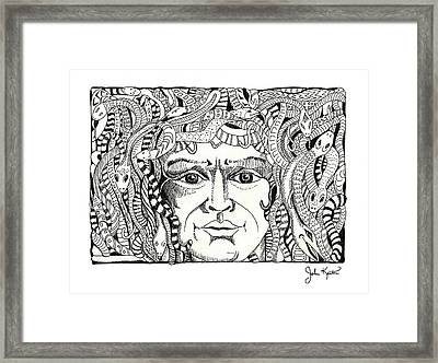 Medusa Framed Print by John Keaton