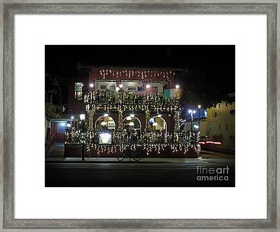 Meehan's Irish Pub Framed Print by D Hackett