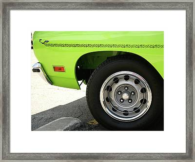 Meep Meep 440 Framed Print by Gordon Dean II