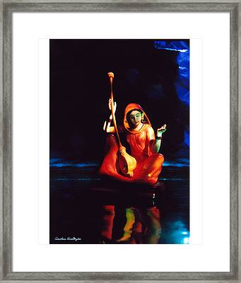 Meerabai Framed Print by Gautam Chatterjee
