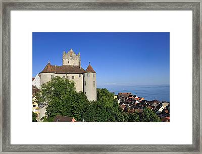 Meersburg Castle - Lake Constance Or Bodensee - Germany Framed Print by Matthias Hauser