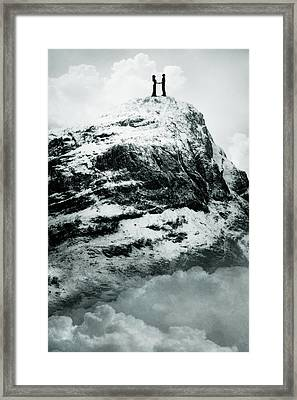 Meeting Framed Print by Cambion Art