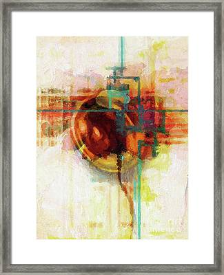 Meeting Point Framed Print by Lutz Baar