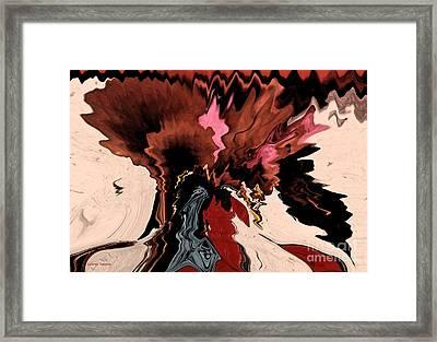 Melange Of Colors  Framed Print by Gerlinde Keating - Keating Associates Inc