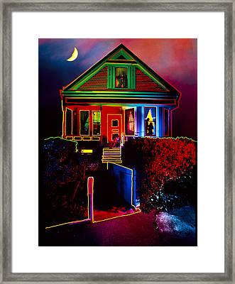 Melinda's House Framed Print by Garry Gay
