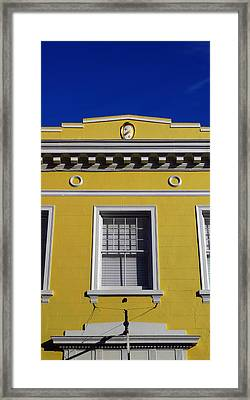 Mellow Yellow Framed Print by Skip Hunt