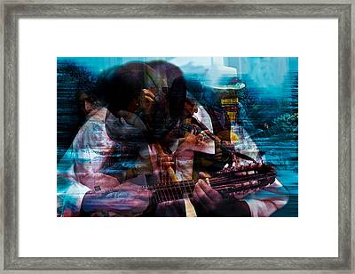 Melodic Moments Framed Print by Mark Courage