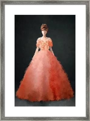 Melody Framed Print by Nancy Levan
