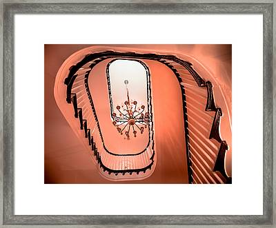 Melody Of Design Framed Print by Karen Wiles