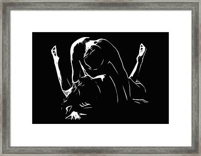 Melting 2 Framed Print by Stefan Kuhn