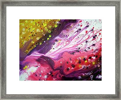 Melting Dream Framed Print by Daniel Lafferty