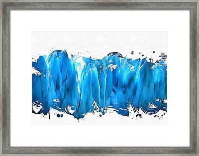 Melting Glaciers Framed Print by Dan Sproul