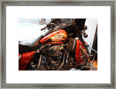 Memorial Bike 9/11 Framed Print by Chuck Kuhn