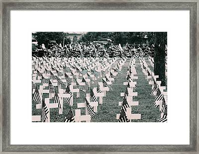 Memorial Day 2008 Stuart Fl 2 Framed Print by Don Youngclaus
