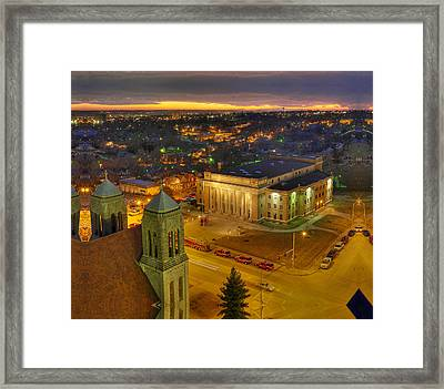 Memorial Hall Framed Print by Don Wolf