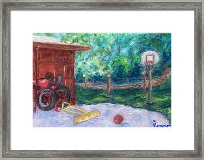 Memories 3 Framed Print by Sandy Hemmer