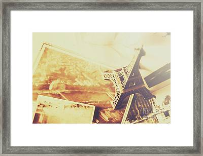 Memories And Mementoes Of Travelling France Framed Print by Jorgo Photography - Wall Art Gallery