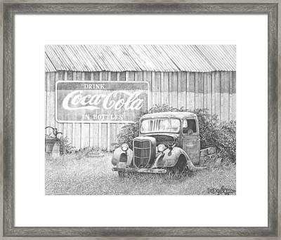 Memories Framed Print by Howard Dubois