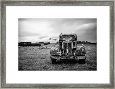 Memories Of Roads Traveled  Framed Print by Mountain Dreams