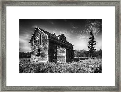 Memories Of The Past 1 Framed Print by Bob Christopher