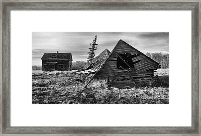 Memories Of The Past 3 Framed Print by Bob Christopher