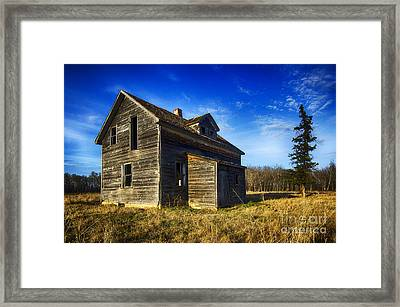Memories Of The Past 4 Framed Print by Bob Christopher