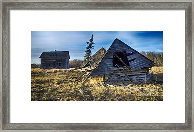 Memories Of The Past 8 Framed Print by Bob Christopher