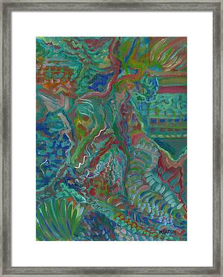 Memories Of The Wild Framed Print by John Keaton