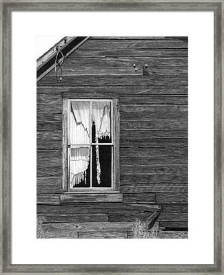 Memories Of What Was Framed Print by Denny Adams