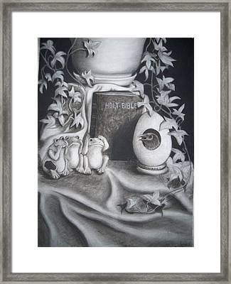 Memories Of You Framed Print by Robin Jones