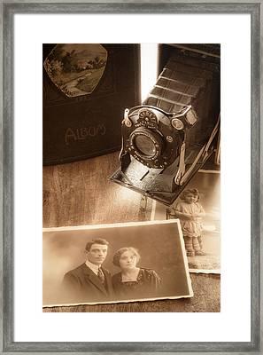 Captured Memories Framed Print by Wim Lanclus