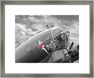 Memphis Belle Framed Print by Gill Billington