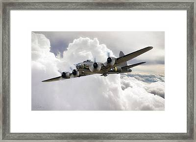 Memphis Belle Framed Print by Peter Chilelli