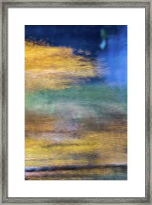 Merced River Reflections 12 Framed Print by Larry Marshall