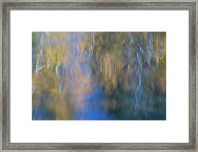 Merced River Reflections 15 Framed Print by Larry Marshall