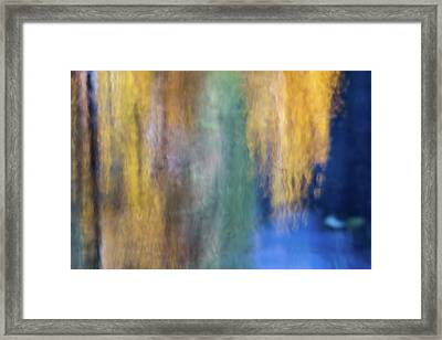 Merced River Reflections 17 Framed Print by Larry Marshall
