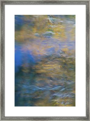 Merced River Reflections 18 Framed Print by Larry Marshall